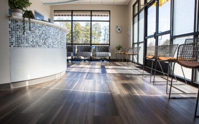 River Run Dental Office Flooring & Tile
